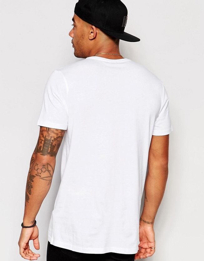 New Look T-Shirt In White With NYC Print